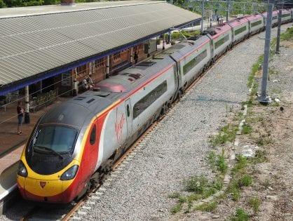 Railway Line Electrification in Poulton