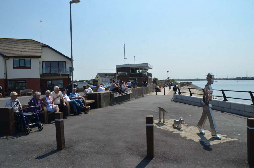 Ferry Point, cafe, RNLI and Coastguard station