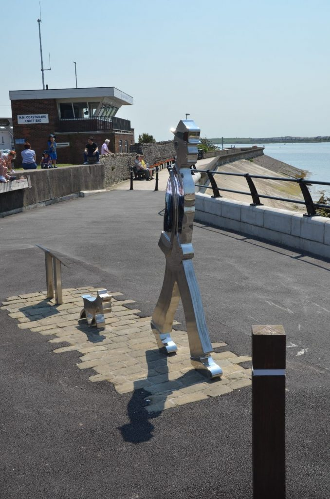 Lowry Statue at the slipway