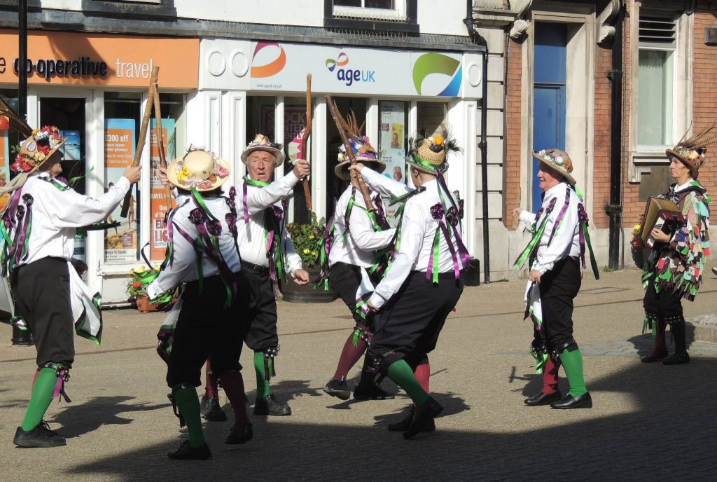 Clog dancing in Poulton