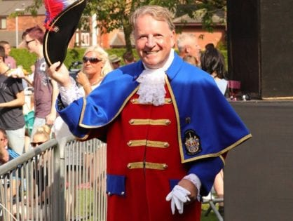 Town Crier - Mike Middleton