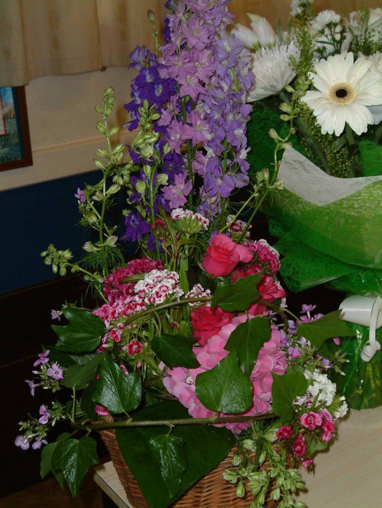 Flower arranging demonstrations