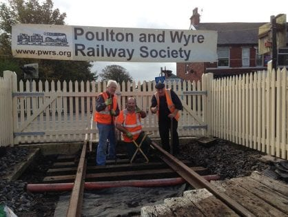 Poulton and Wyre Railway Society PWRS