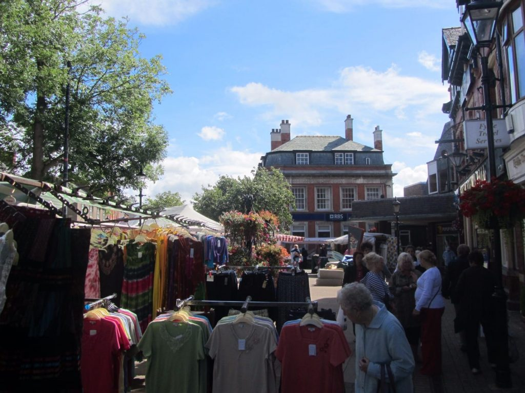 Market day in Poulton